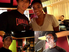 """Vincent Veloso joins the cartoon voice cast on """"Ethan Art Adventure"""" directed by Nuria Dix"""