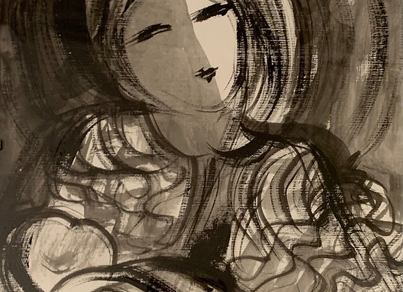 Portrait I - Ink