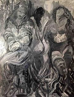 oil-black-8.BK-_B_W-triple-women-w_poetr
