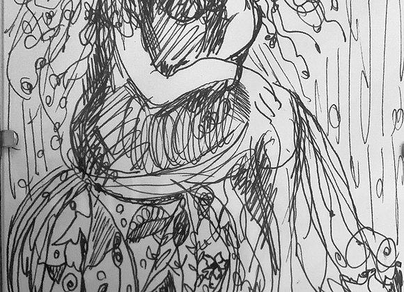 Portrait II - Ink