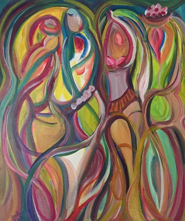 5.BK_Four_Women_18x22inches_acrylic_.jpg