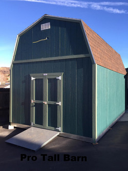 Our Tall Barn Pro-Series Shed