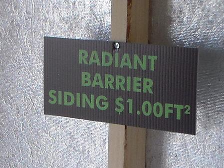 Radiant Barrier Option