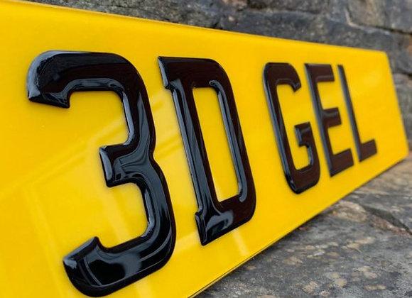 3D BLACK GEL