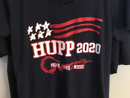 """Hupp 2020"" Campaign T-shirts have arrived"