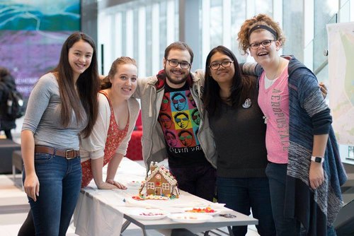 GBDA Society: Gingerbread house contest