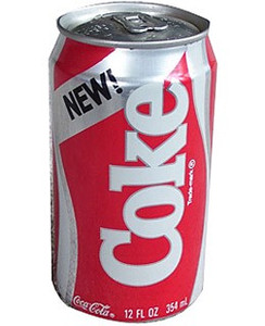 New Coke Can—Time Magazine