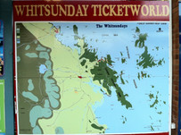 """Our Famous """"Big Map"""" of The Whitsundays"""