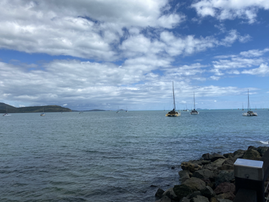 Boats in Airlie Beach