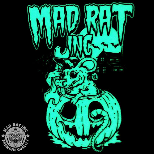 Pumpkin Rat (Glows In The Dark) Decal