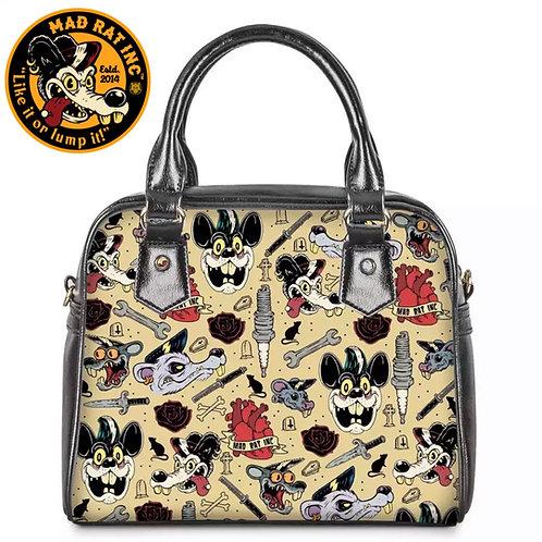 Retro Bowler Bag (Tattoo)