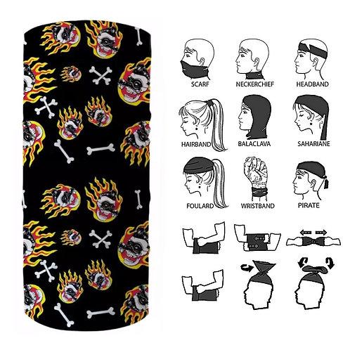 12-in-1 Bandana Versatile Headwear