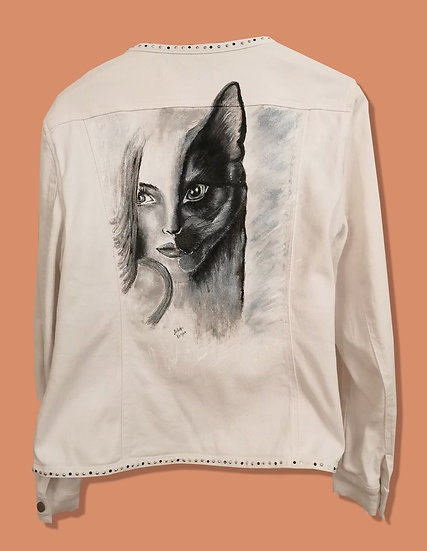 Custom Jacket - Lady Cat