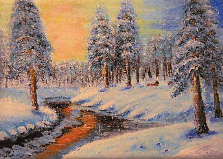 "Original Print Artwork - ""Carpathian Forest"""