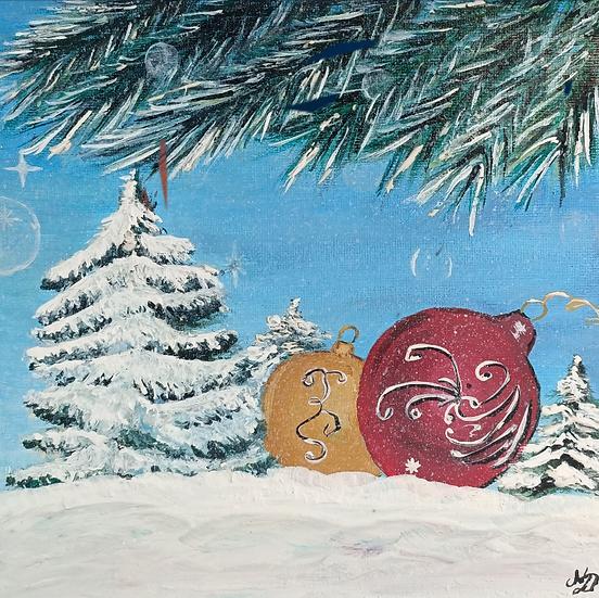 Decorative Christmas Baubles