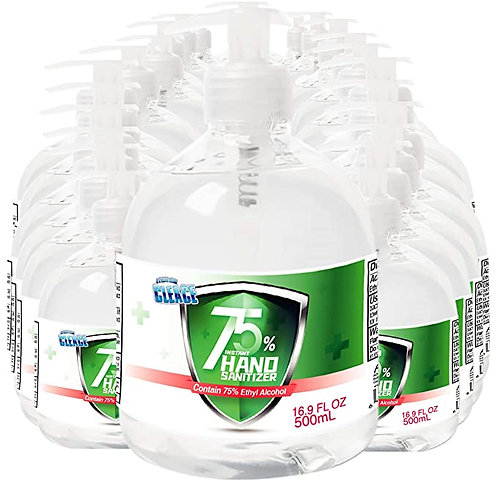24 Pack - 75% Aogrand Cleace Hand Sanitizer Gel