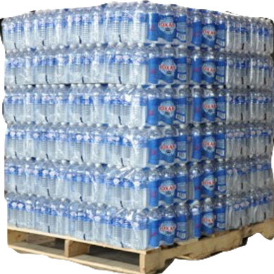 Pallet Roxane Filtered Water - 84 Cases - 2,016 Bottles