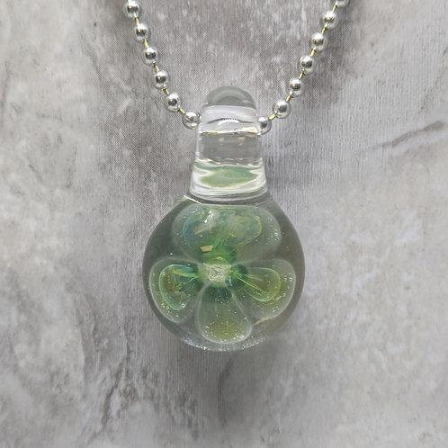 Phantom Floral Glass Pendant