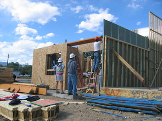 Habitat serves partner families and communities through sustainable building