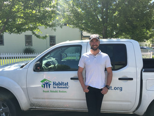 A hearty welcome Jonah Kinchy, our new construction site superintendent