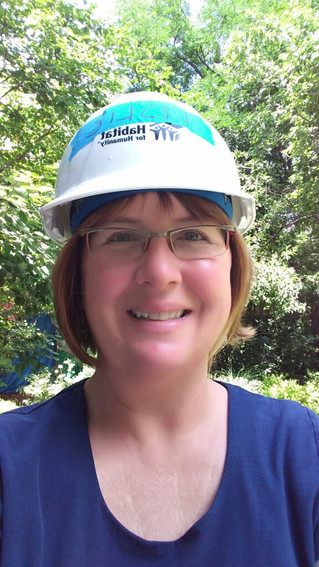 Welcome Leslie Olson - the newest member of our amazing construction team!