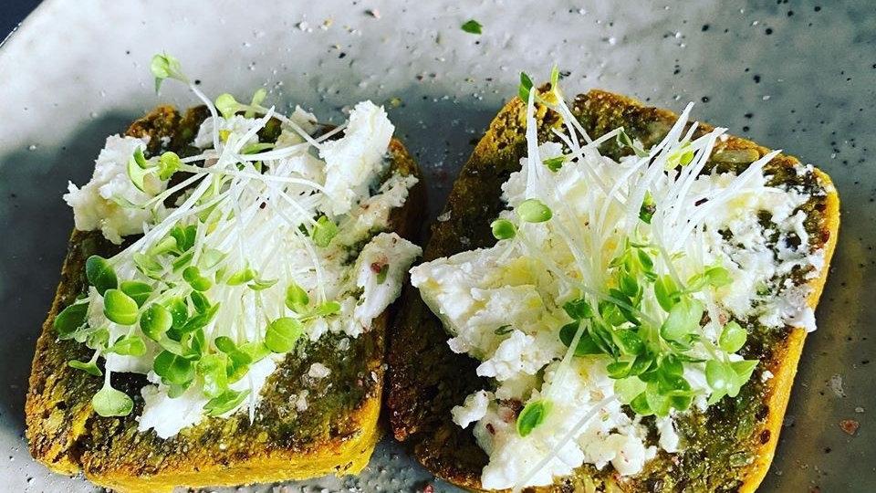 Turmeric & Hemp Bread