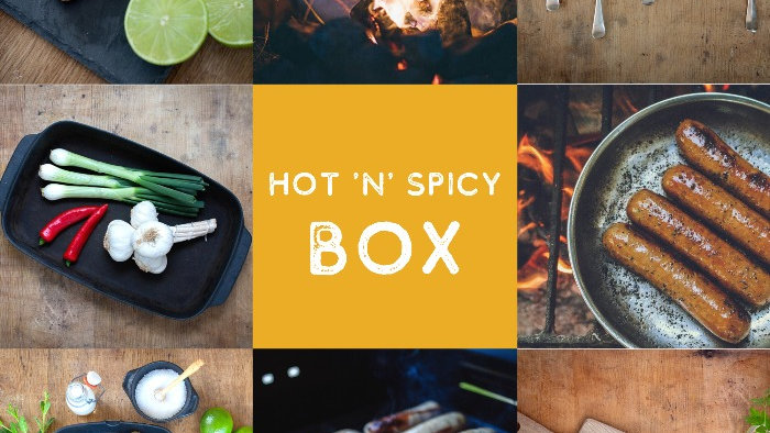 spicy sausage box