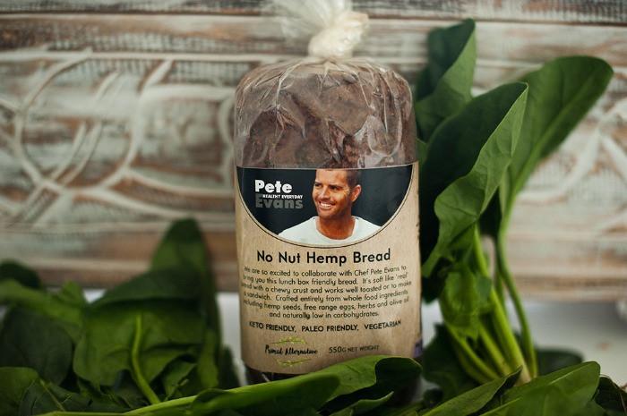 low carb hemp bread