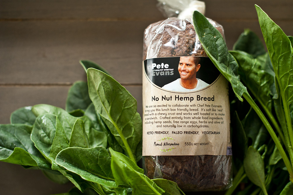 No Nut Hemp Bread from Primal Alternative UK