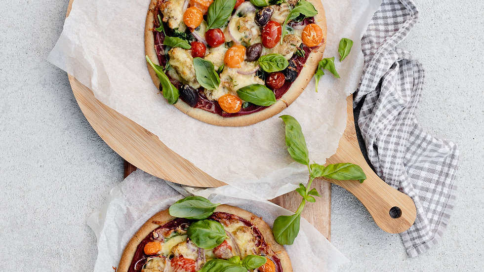 Low Carb Pizza | Fat & Seedy Pizza Bases