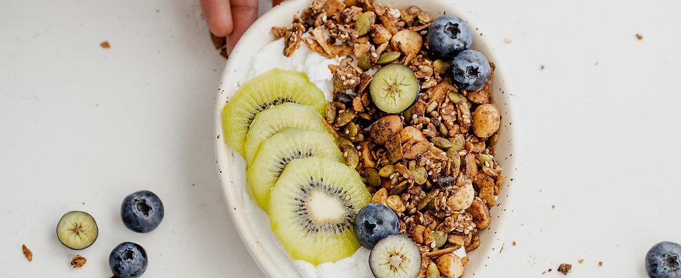 Healthy Granola: Fat & Seedy