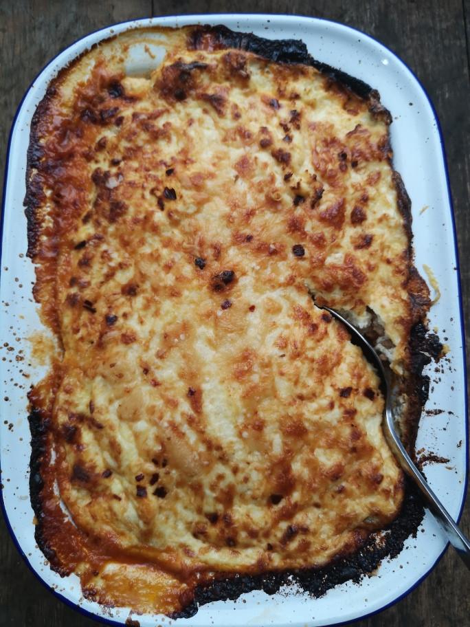 Low Carb Sausage Lasagne