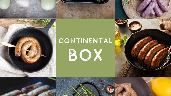 continental sausages box