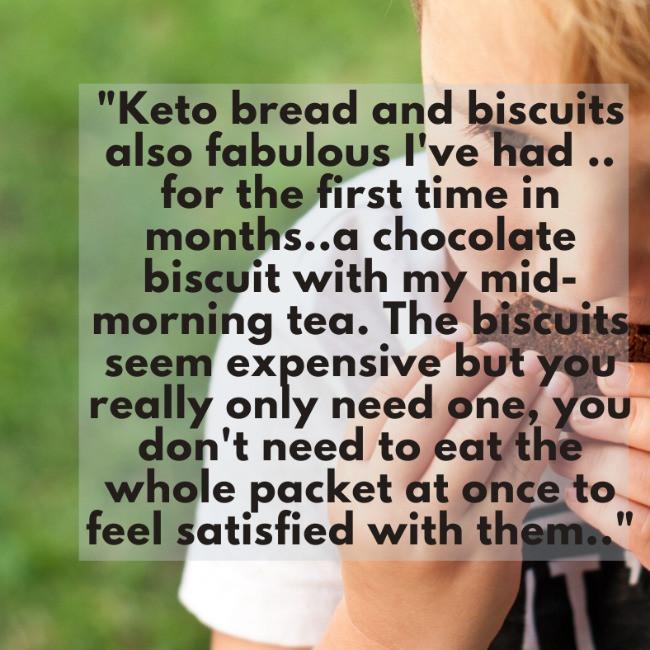 Additive free kid eating triple choc keto cookies <img>