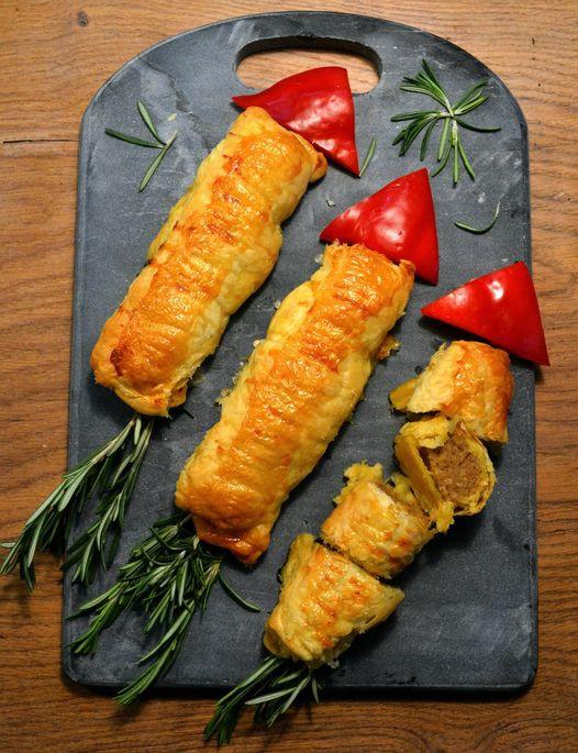 Grain-Free Sausage Rolls