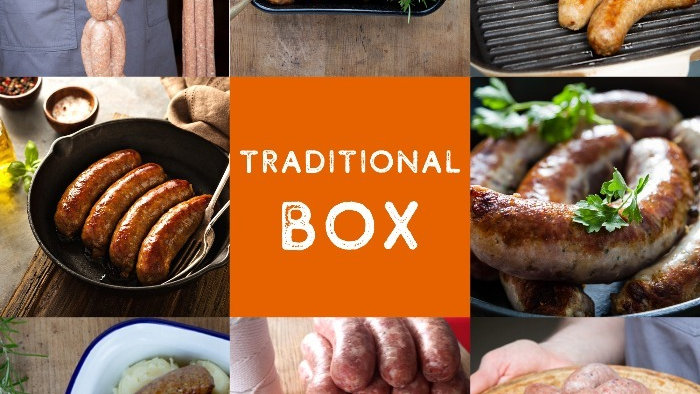 Sausage delivery box