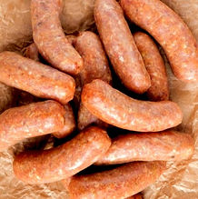 real food - sausages