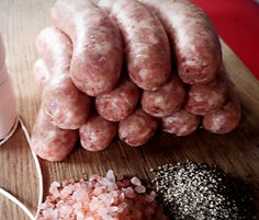 low carb high fat keto healthy sausage
