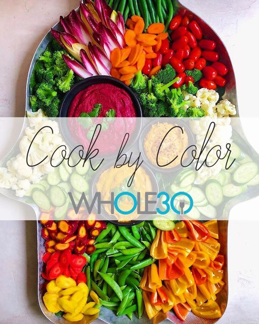 whole30 cooking by colour