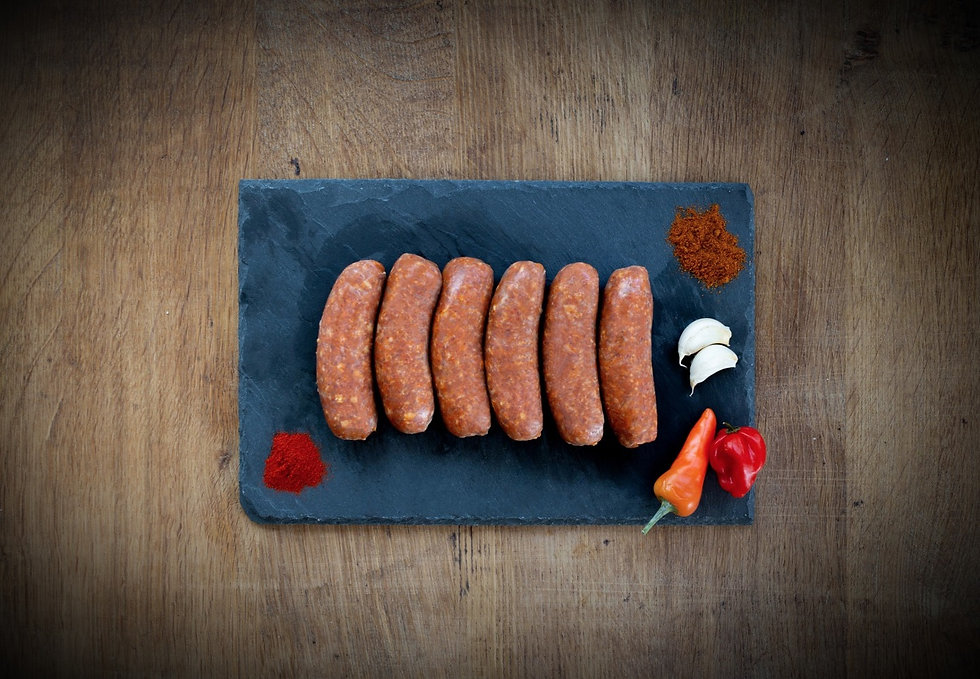 chorizo sausage - 6 fresh mexican chorizo sausages