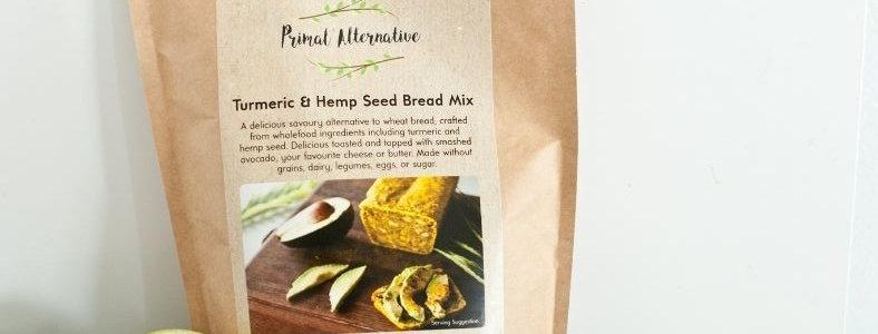 Packet Mix - Turmeric and Hemp Seed Bread