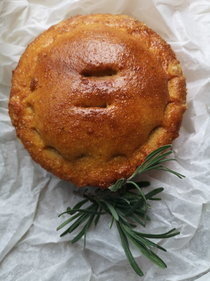 Grain-Free Meat and Potato Pie