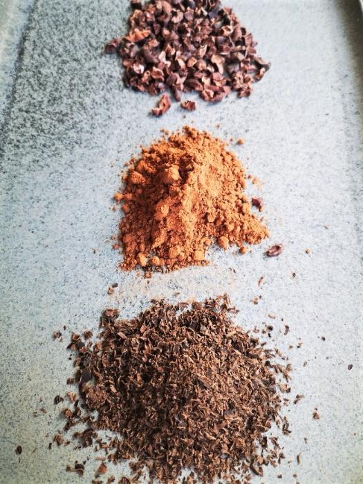 ingredients for triple choc chip keto cookies <img>