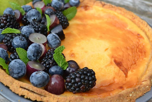 healthy recipes for custard tart