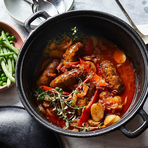 healthy recipes for sausage casserole