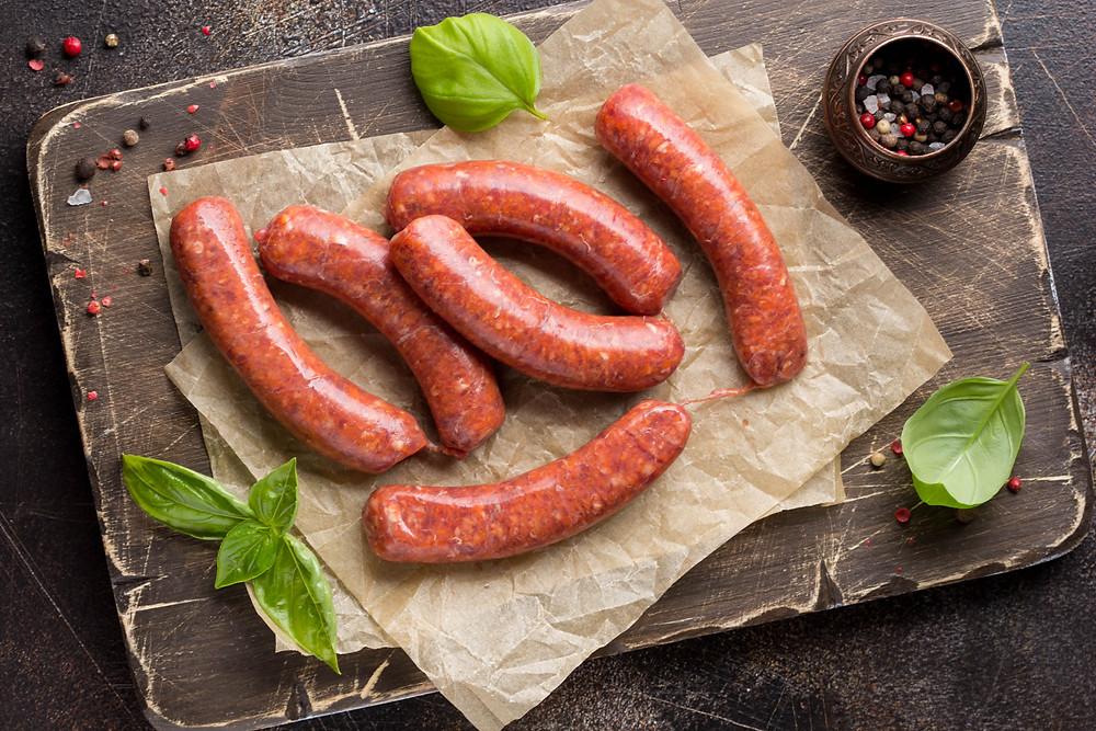 merguez - north African sausage