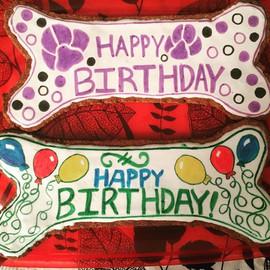 10_ birthday bones! #baking #dogtreats #