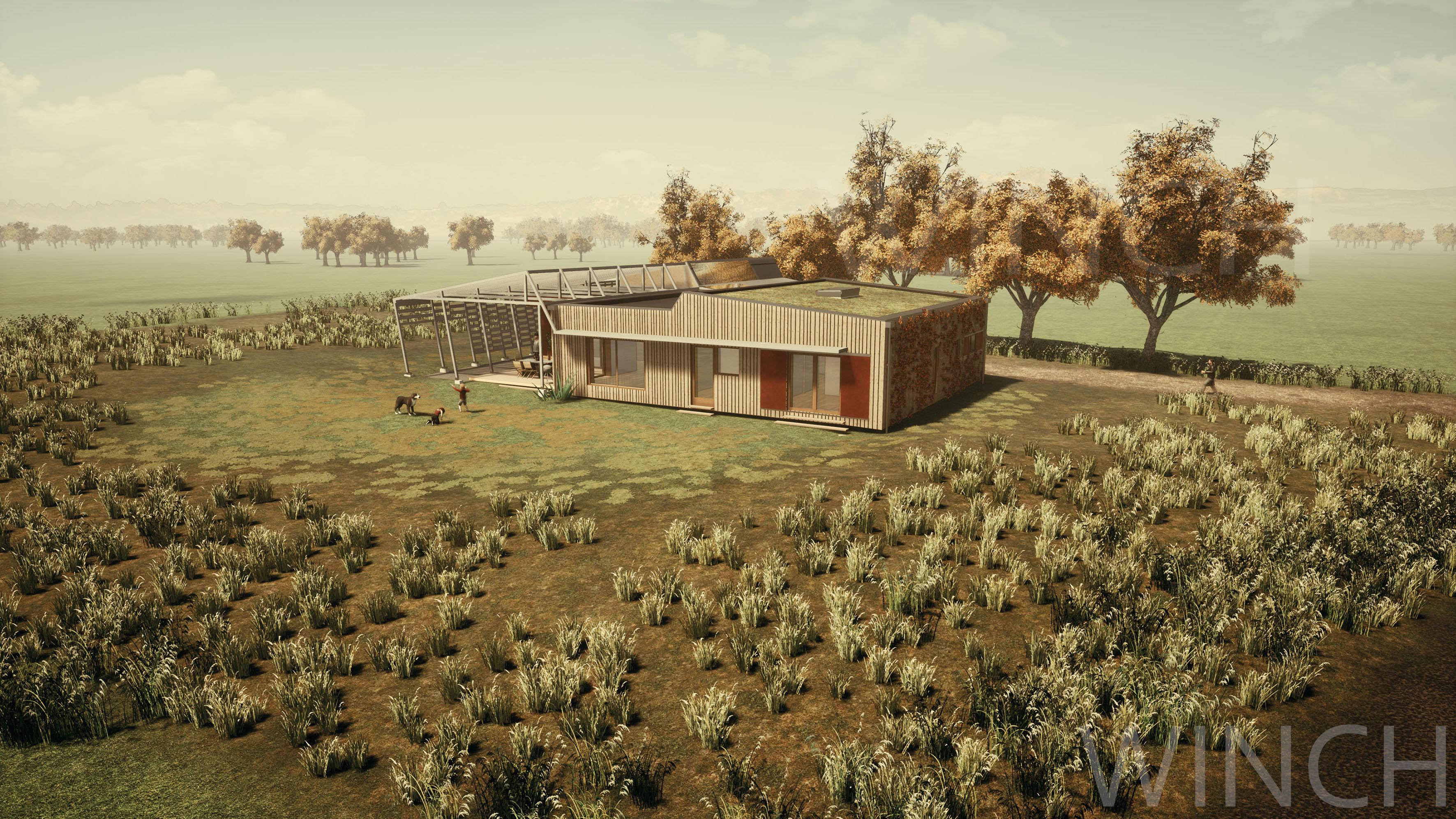 Une maison dans le Far Ouest