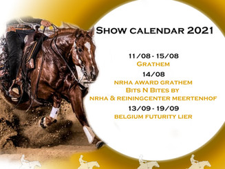 Update show calendar