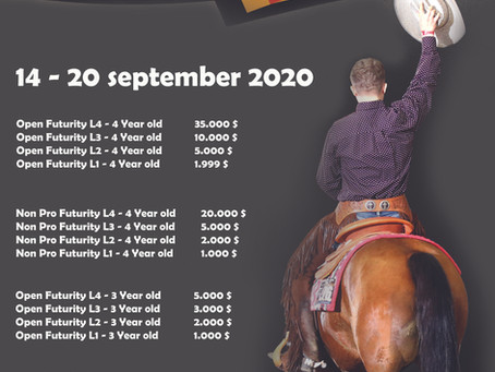 Update Belgium Futurity - Added money